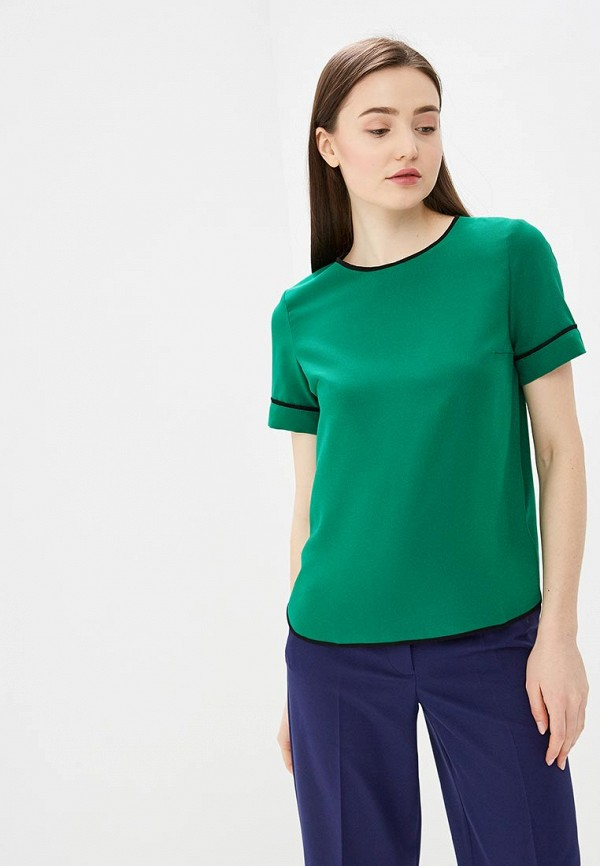женская блузка vittoria vicci, зеленая