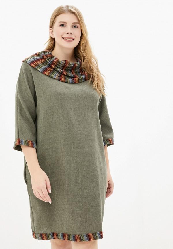 женское платье савосина, хаки