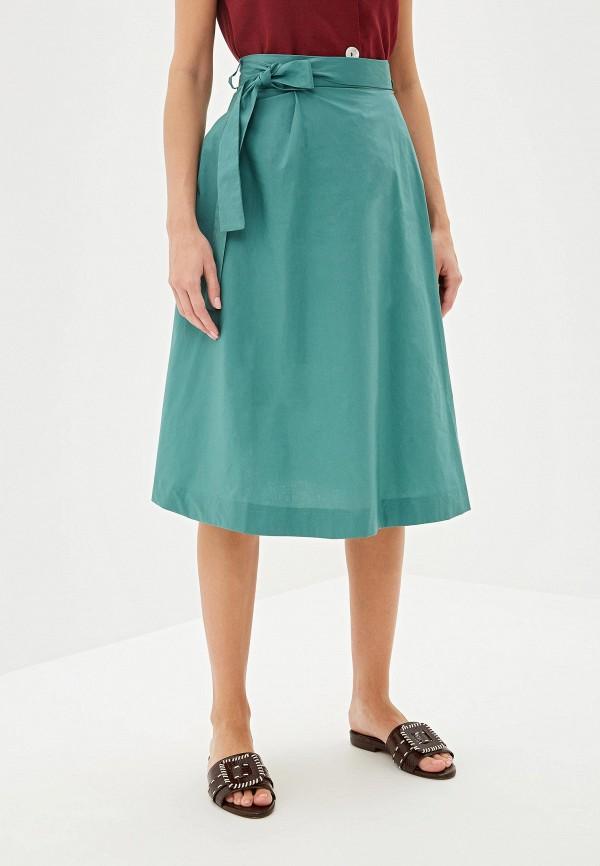 женская юбка befree, зеленая