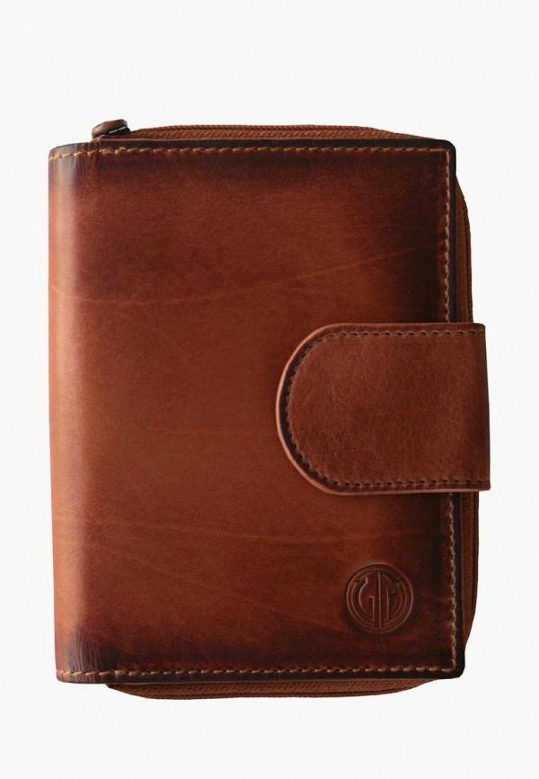 женский кошелёк lindenmann, коричневый