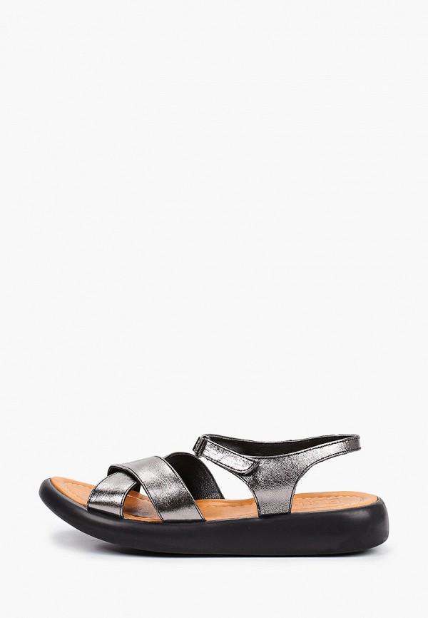 женские сандалии eletra, серебряные