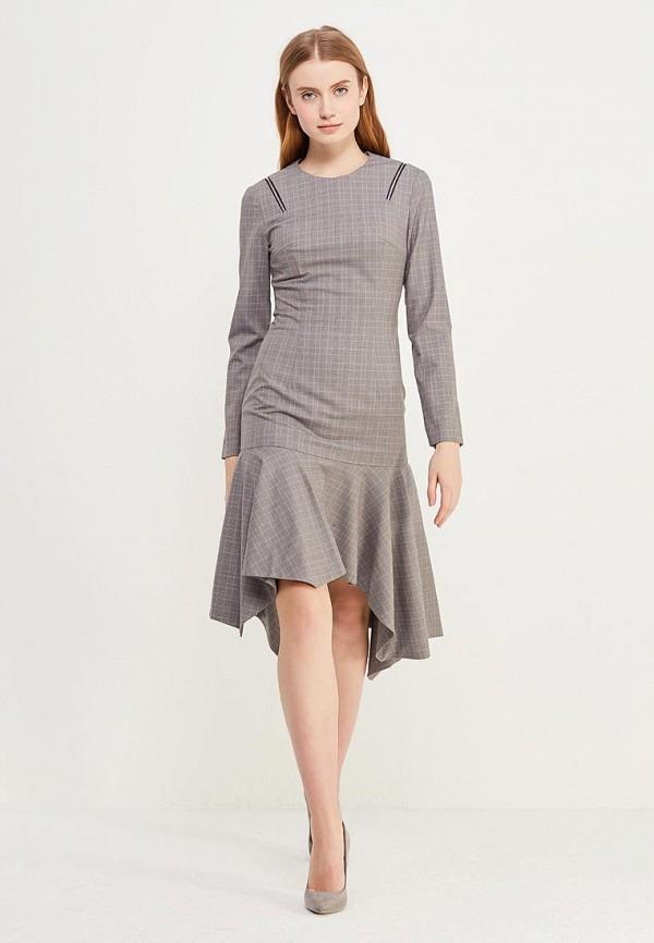 Купить Платье Soeasy, Wooster Grey Plaid, mp002xw0f4iu, серый, Весна-лето 2019