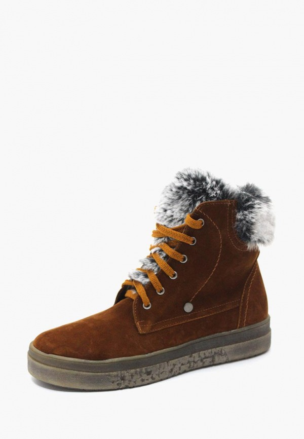 женские ботинки belletta, коричневые