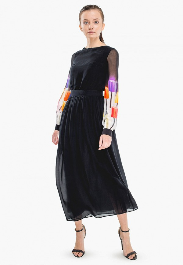 женское платье nai lu-na by anastasia ivanova, черное