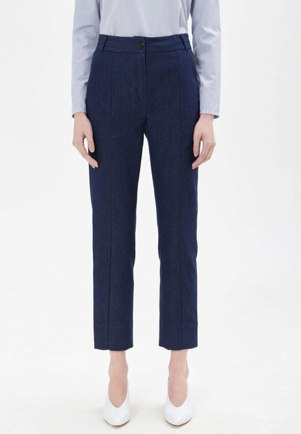 женские классические брюки base forms, синие