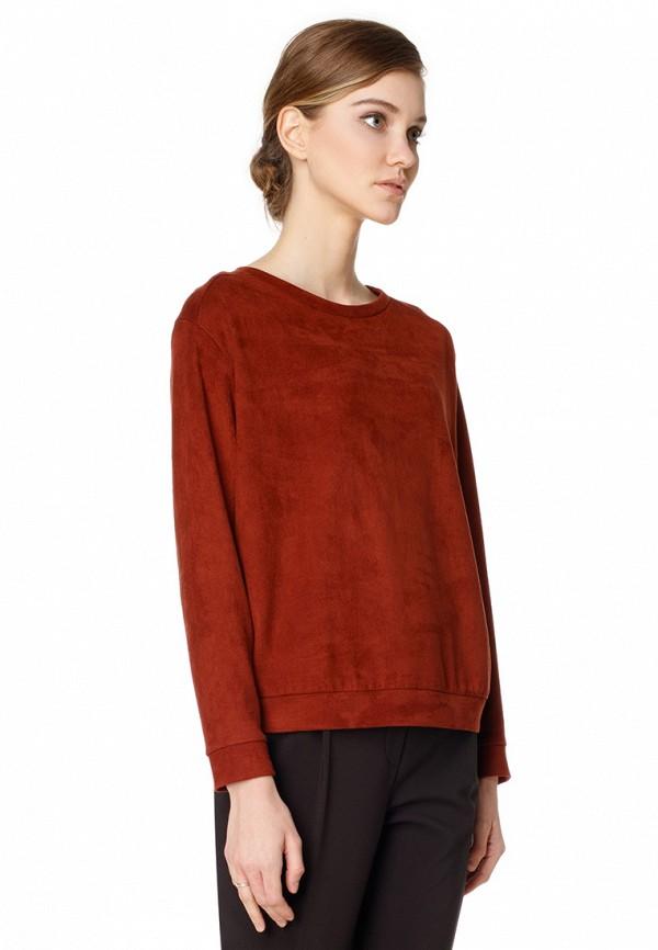 женский свитшот pompa, бордовый