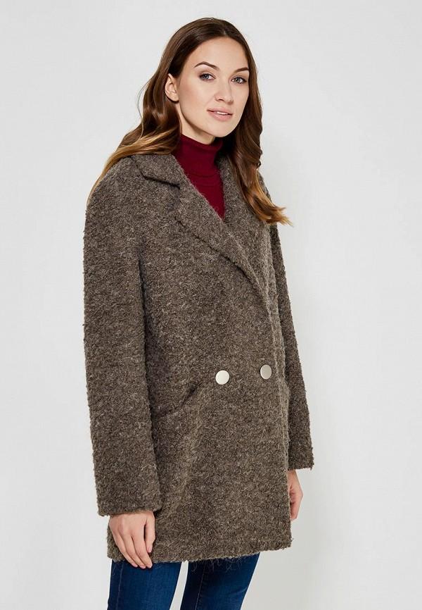 Пальто Azell'Ricca, MP002XW0F5Y6, коричневый, Осень-зима 2017/2018  - купить со скидкой