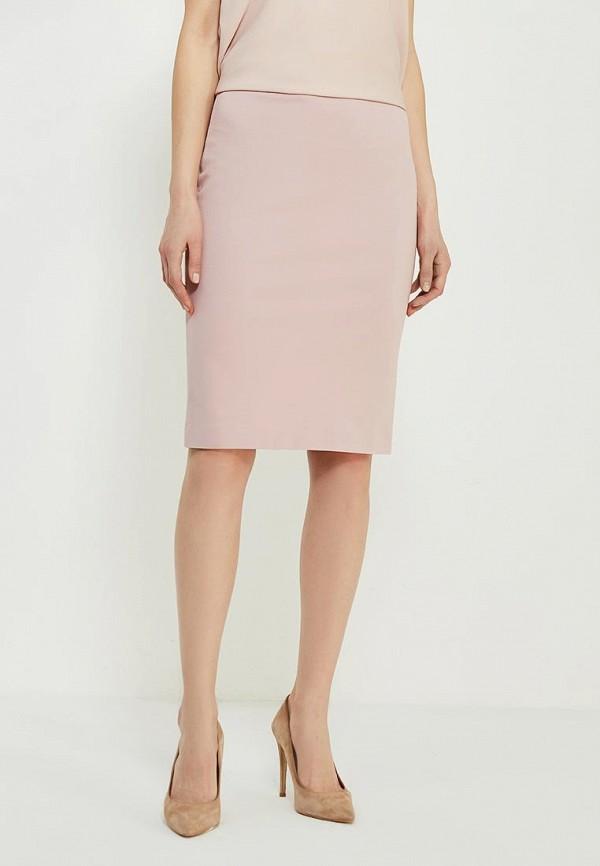 женская зауженные юбка ruxara, розовая