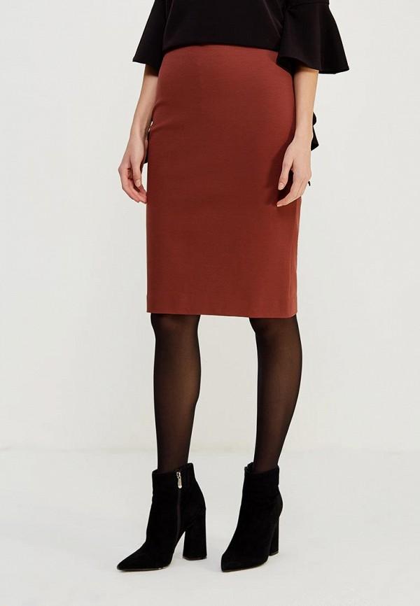 женская юбка ruxara, бордовая