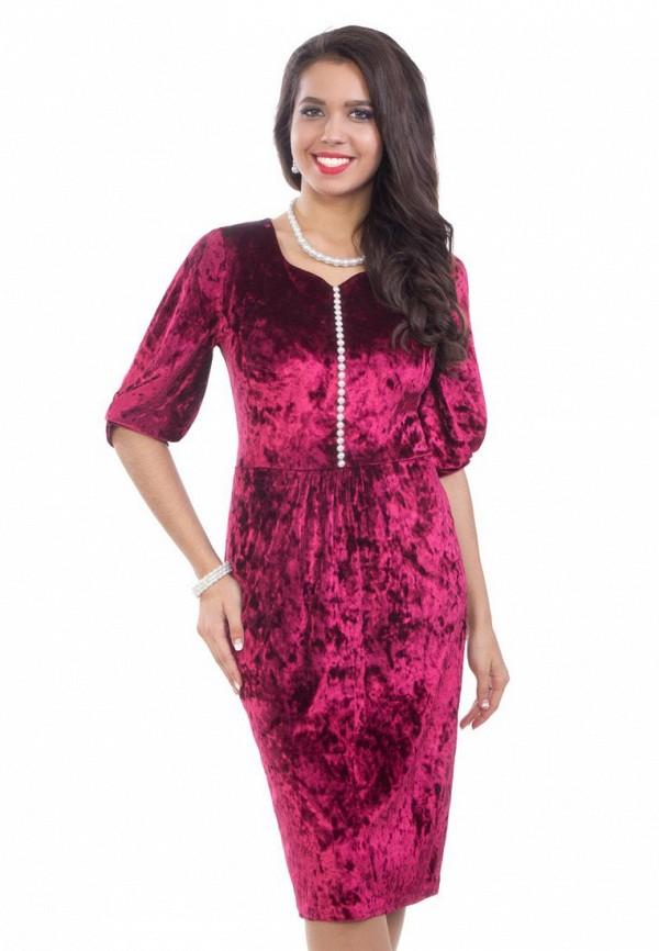 женское платье wisell, бордовое