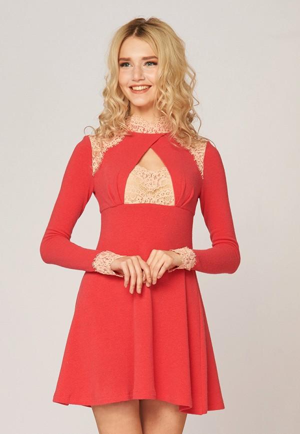 Купить Платье Ано, MP002XW0F805, коралловый, Осень-зима 2017/2018