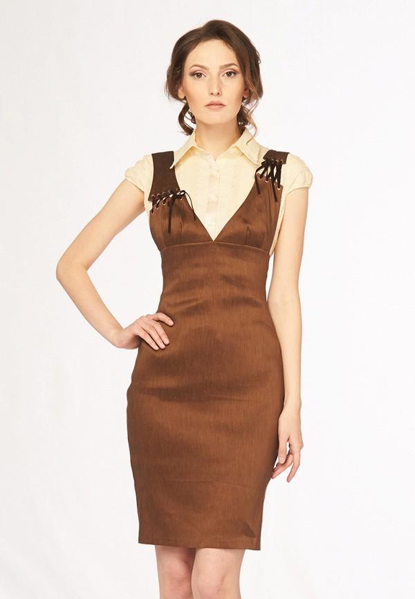 Купить Платье Ано, MP002XW0F806, коричневый, Осень-зима 2017/2018