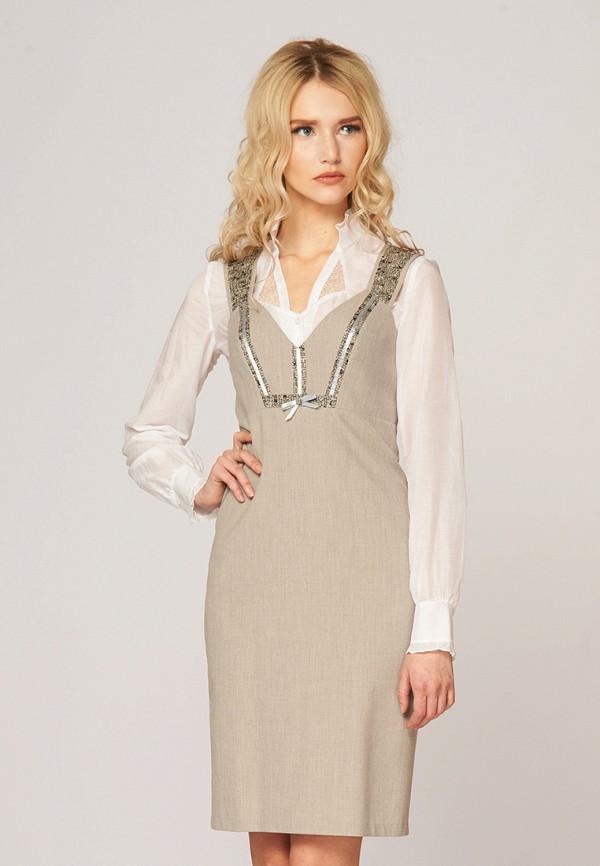 Купить Платье Ано, MP002XW0F818, бежевый, Осень-зима 2017/2018