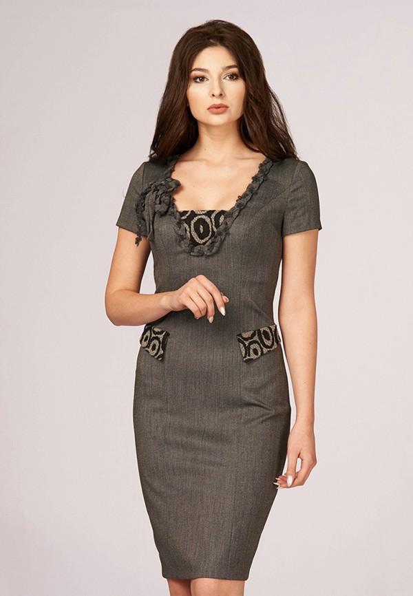 Купить Платье Ано, mp002xw0f84e, серый, Осень-зима 2017/2018