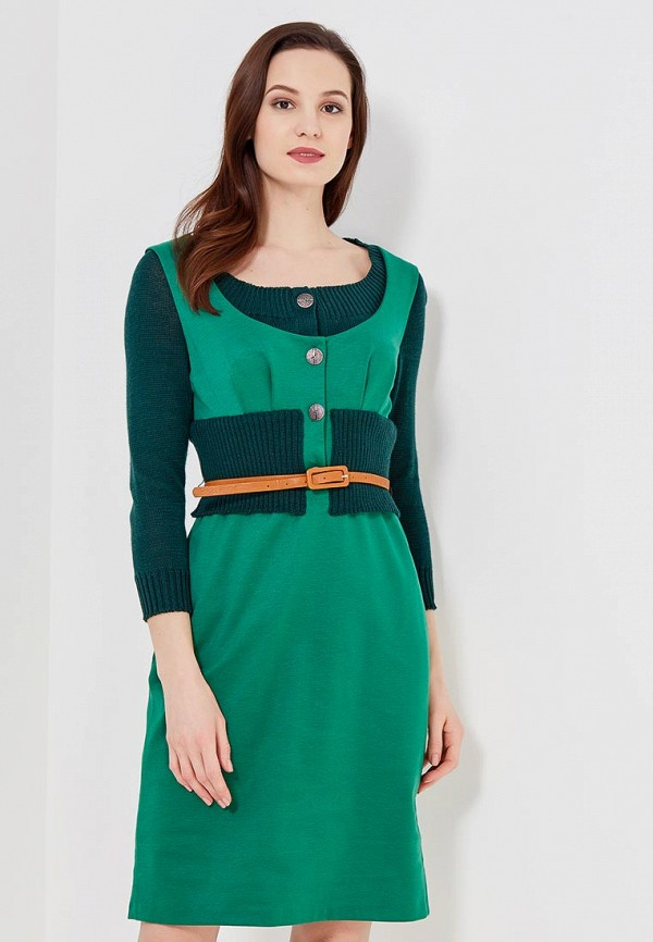 Купить Платье Ано, MP002XW0F85X, зеленый, Осень-зима 2017/2018