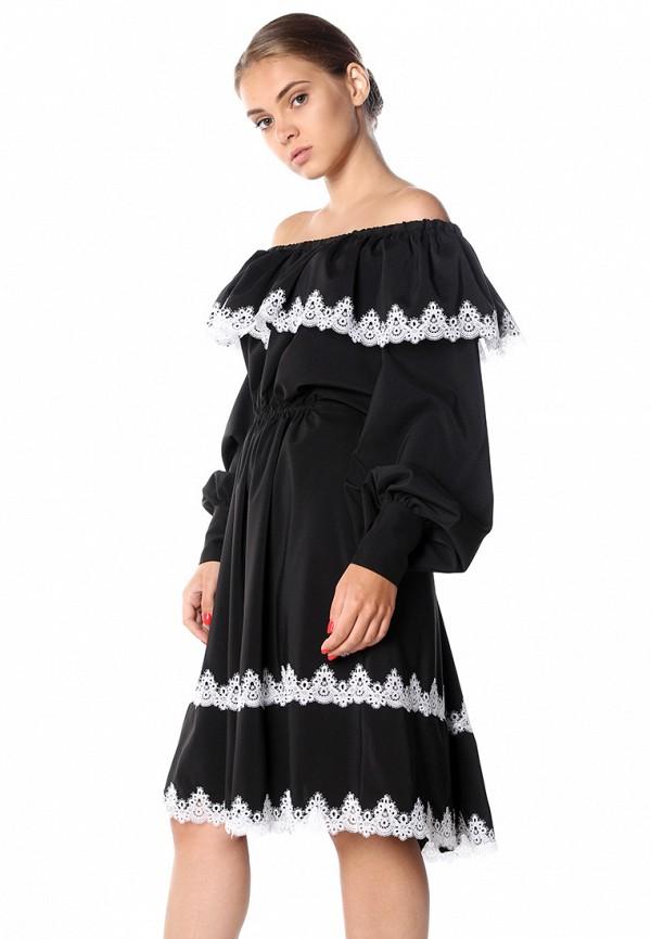 Платье Seanna Seanna MP002XW0F8GK seanna митенки короткие черно розовые