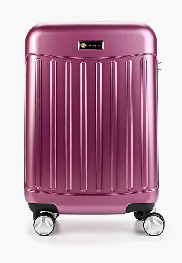 женский чемодан sunvoyage, розовый