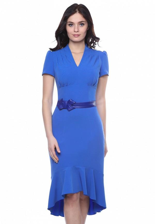 женское платье grey cat, голубое