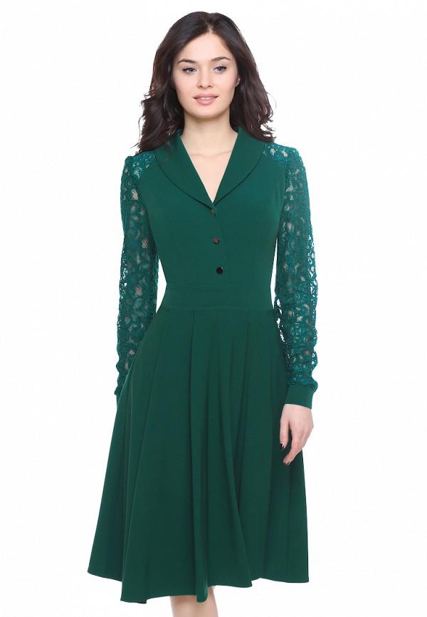 Купить Платье Grey Cat, BEAUTTY, mp002xw0f8jz, зеленый, Весна-лето 2019