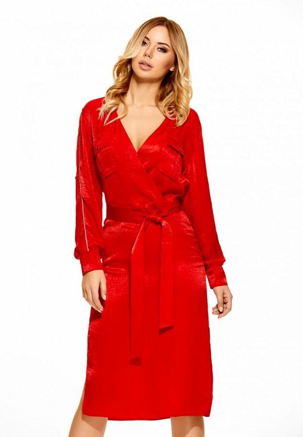 Купить Платье SoloU, MP002XW0F8MQ, красный, Осень-зима 2017/2018