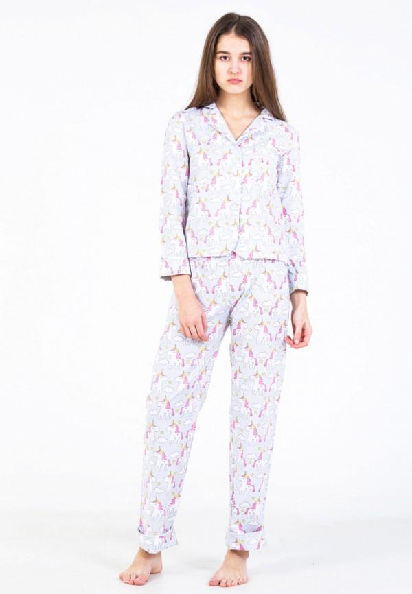Купить Пижама Nostalgy, mp002xw0f8ue, серый, Осень-зима 2017/2018