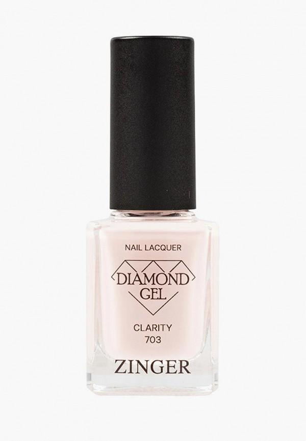 Лак для ногтей Zinger Zinger MP002XW0F9NU пинцет для бровей zinger zinger mp002xw0tx8s