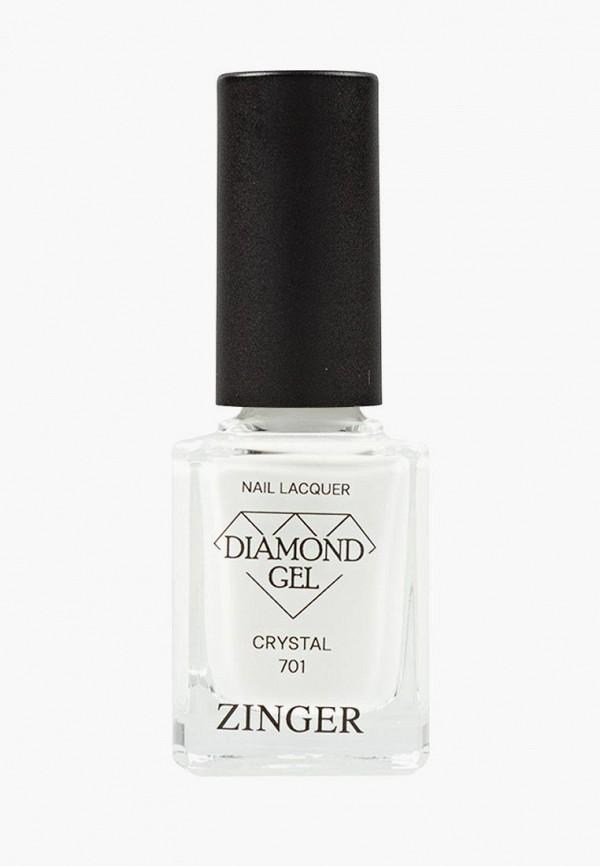 Лак для ногтей Zinger Zinger MP002XW0F9OB пилка полировка для ногтей zinger classic bb 01 3 шт