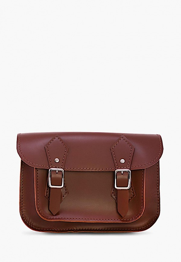 женская сумка grace, коричневая
