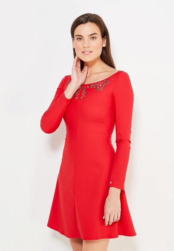 Купить Платье Mazal, MP002XW0F9T5, красный, Осень-зима 2017/2018