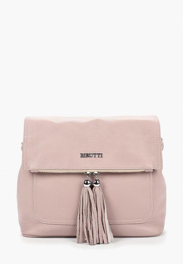 женская сумка alessandro birutti, фиолетовая