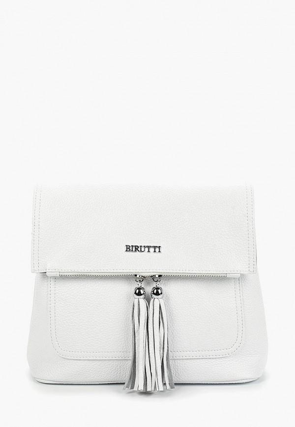 женская сумка alessandro birutti, белая