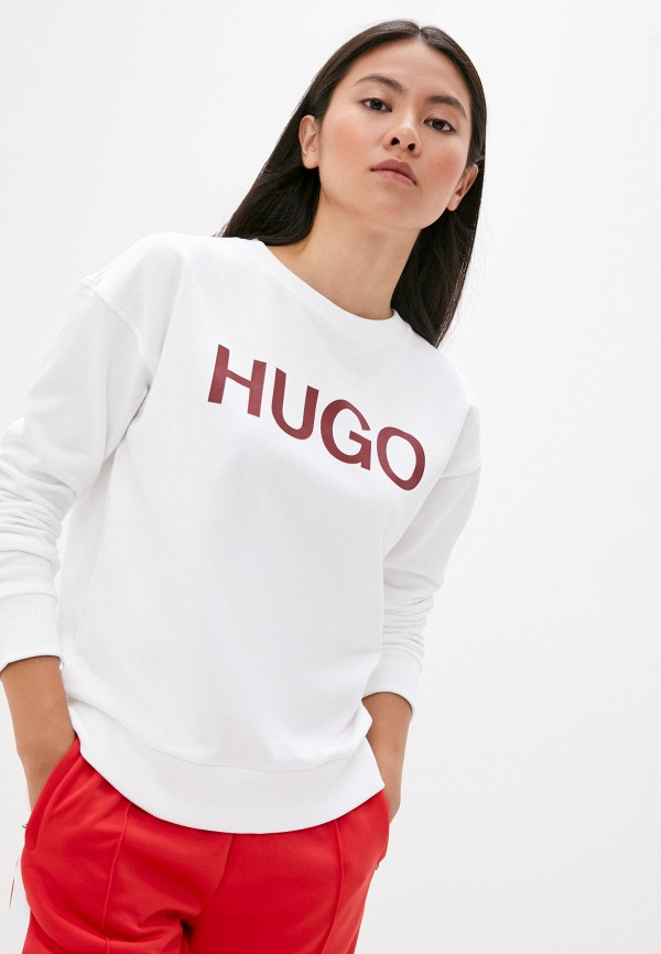 женский свитшот hugo, белый