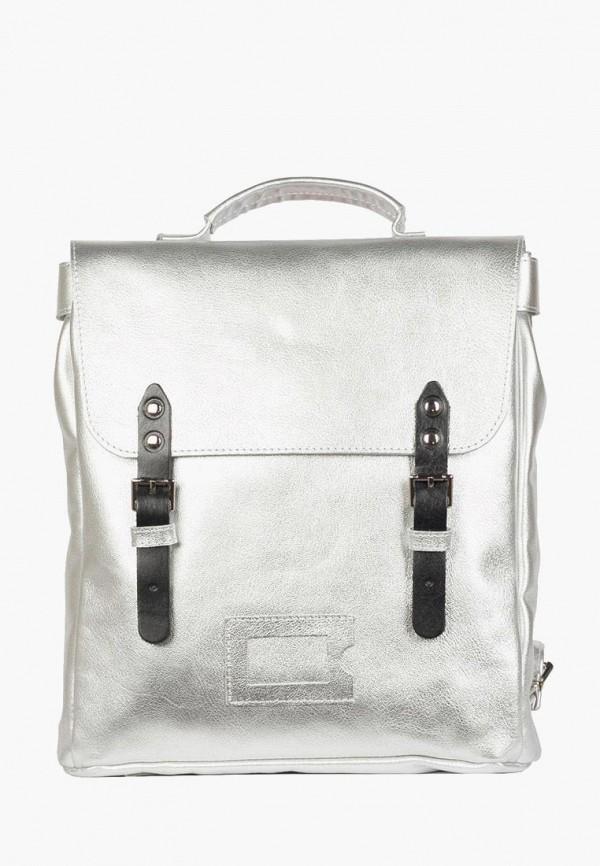 женский рюкзак kokosina, серебряный