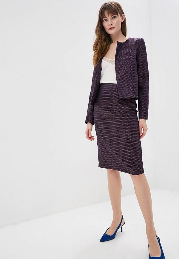 женский костюм d&m by 1001 dress, фиолетовый