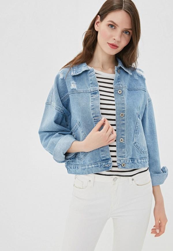 Куртка джинсовая Befree Befree MP002XW0FIWV куртка джинсовая befree befree be031emazxf3