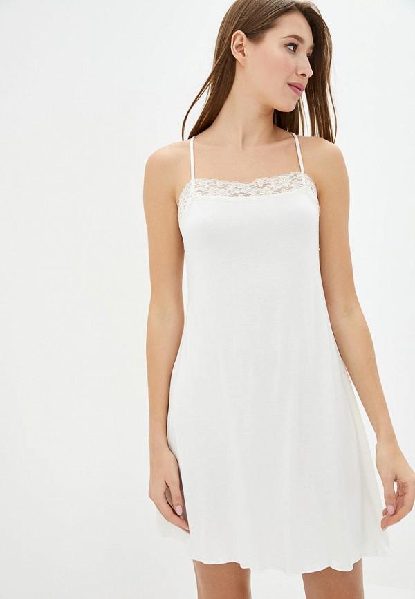 женские сорочка ночная роза, белые