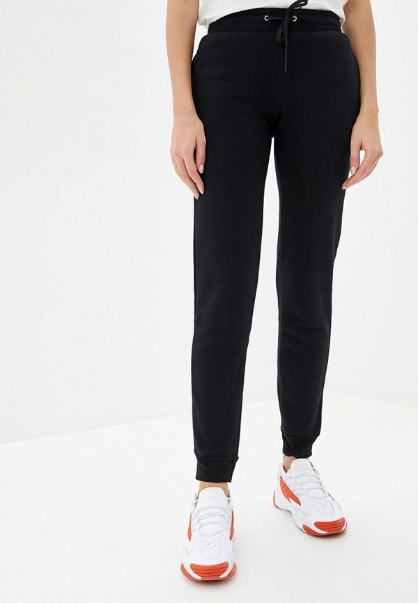 женские спортивные брюки роза, черные