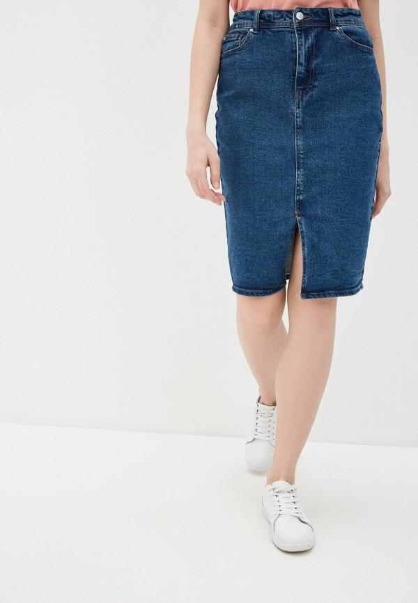Юбка джинсовая Sela Sela MP002XW0FQF3 цена