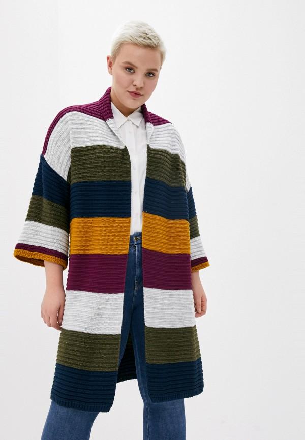 женский кардиган milanika, разноцветный