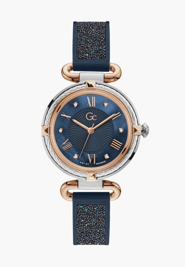 женские часы gc, синие