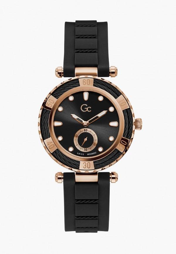 женские часы gc, черные