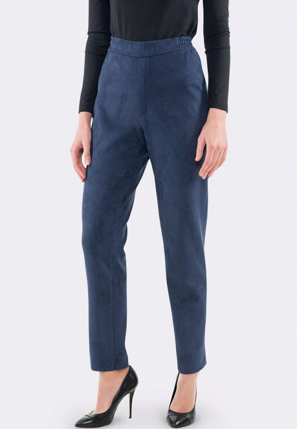 женские прямые брюки cat orange, синие