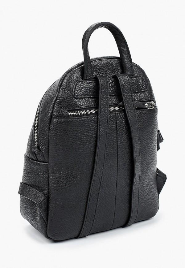 Фото 2 - Женский рюкзак Franchesco Mariscotti черного цвета