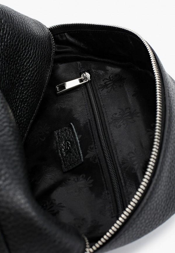 Фото 3 - Женский рюкзак Franchesco Mariscotti черного цвета