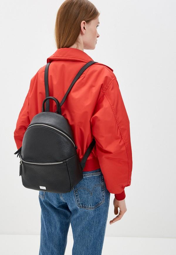 Фото 4 - Женский рюкзак Franchesco Mariscotti черного цвета