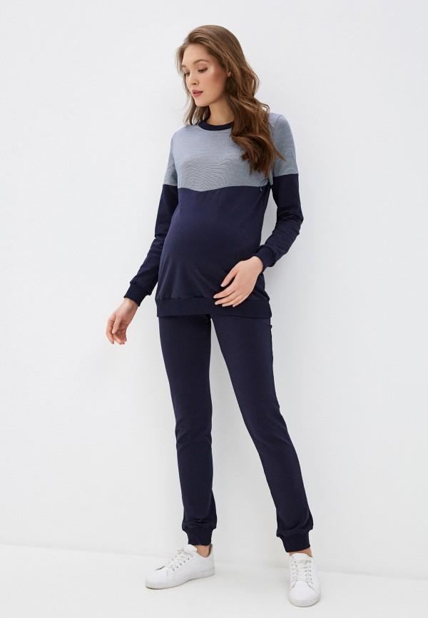женский спортивный костюм hunny mammy, синий