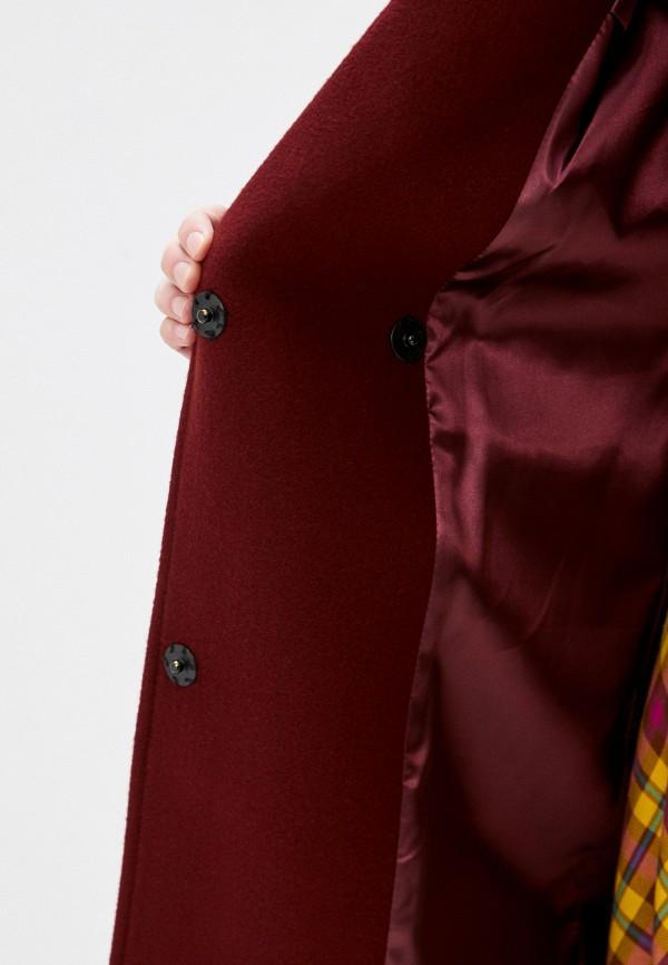 Фото 4 - Пальто Vivaldi бордового цвета