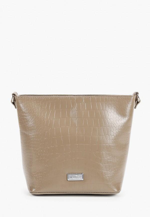 Фото - Женскую сумку Franchesco Mariscotti бежевого цвета