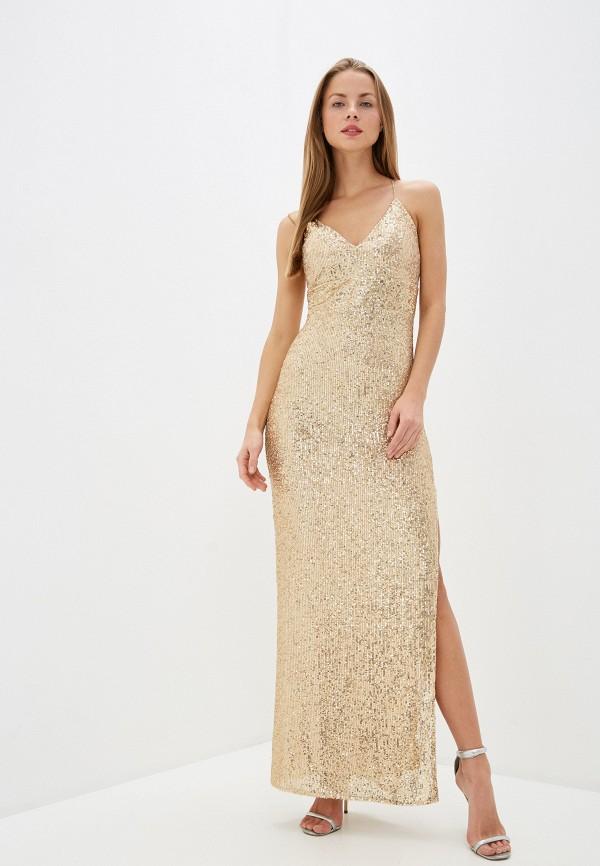 Платье Joymiss золотого цвета