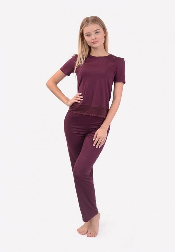 женская пижама n.el, фиолетовая